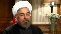 Iranian President Rouhani talks to euronews ahead of Davos debut