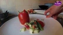 Cuisine - Comment préparer des tomates mojito - Entrée