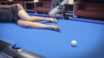 Venom Trickshots : Trick Shots with a cute girl on the pool
