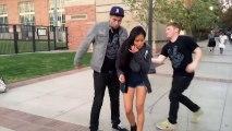 Caméra cachée hilarante : ils échangent leurs vêtements et piègent des filles dans la rue!