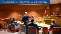 Monique Rathbun v David Miscavige and Scientology hearing 22 Jan 2014 in 2 minutes