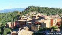 Roussillon, un des plus beaux villages de France (PACA, Vaucluse, franceguidetour, HD)