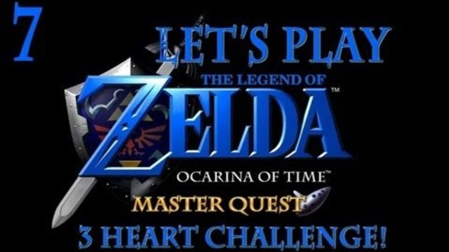 Let's Play Ocarina of Time: Master Quest (3 Heart Challenge!) - Episode 7 - Mistakes