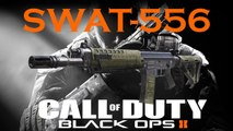 SWAT-556 Best Class Setup, Call of Duty Black Ops 2 Weapon Guide (Best Game Strategy)