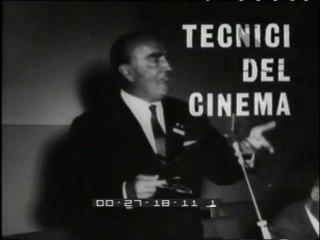Il Convegno Internazionale di Tecnica Cinematografica
