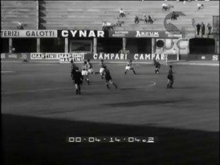 L'incontro di calcio Lecco-Udinese