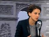 """Najat Vallaud-Belkacem sur l'IVG: """"le pape est en phase avec la religion catholique"""" - 24/01"""
