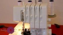 cours de couture - Modifier les fils de la surjeteuse sans ôter les fils - tuto de couture