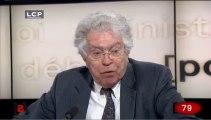 Pierre Joxe, invité des 140 secondes du Lab d'Europe 1 : récépissés, circulaire Valls, et Conseil constitutionnel