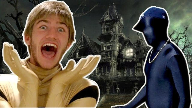 TRAPPED IN A HAUNTED HOUSE!