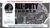 Free  Call Of Duty Ghosts Wolf Skin DLC on Xbox 360 and Playstation 3