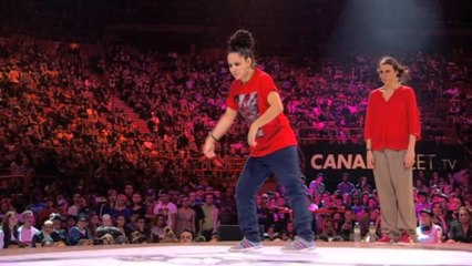 1/2 finales – POPPING : Cintia & Sacha (Spain) vs (The Netherlands)