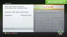 Xbox Live Gratuit - Gagner des codes Xbox Live gratuits illimités ! - Janvier 2014
