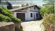 A vendre - maison - Biarritz (64200) - 6 pièces - 300m²