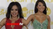 Kaylani Lei and Asa Akira 2014 XBIZ Awards Red Carpet Arrivals