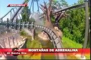 Montañas de adrenalina: las montañas rusas más extremas del planeta