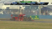 24H Daytona 2014 GIDLEY Malucelli Horror Crash