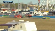 24H Daytona 2014 Massive Crash Gidley Malucelli Multi Angles