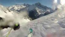 FWT14 - GOPRO Run of Fabio Studer - Chamonix Mont Blanc