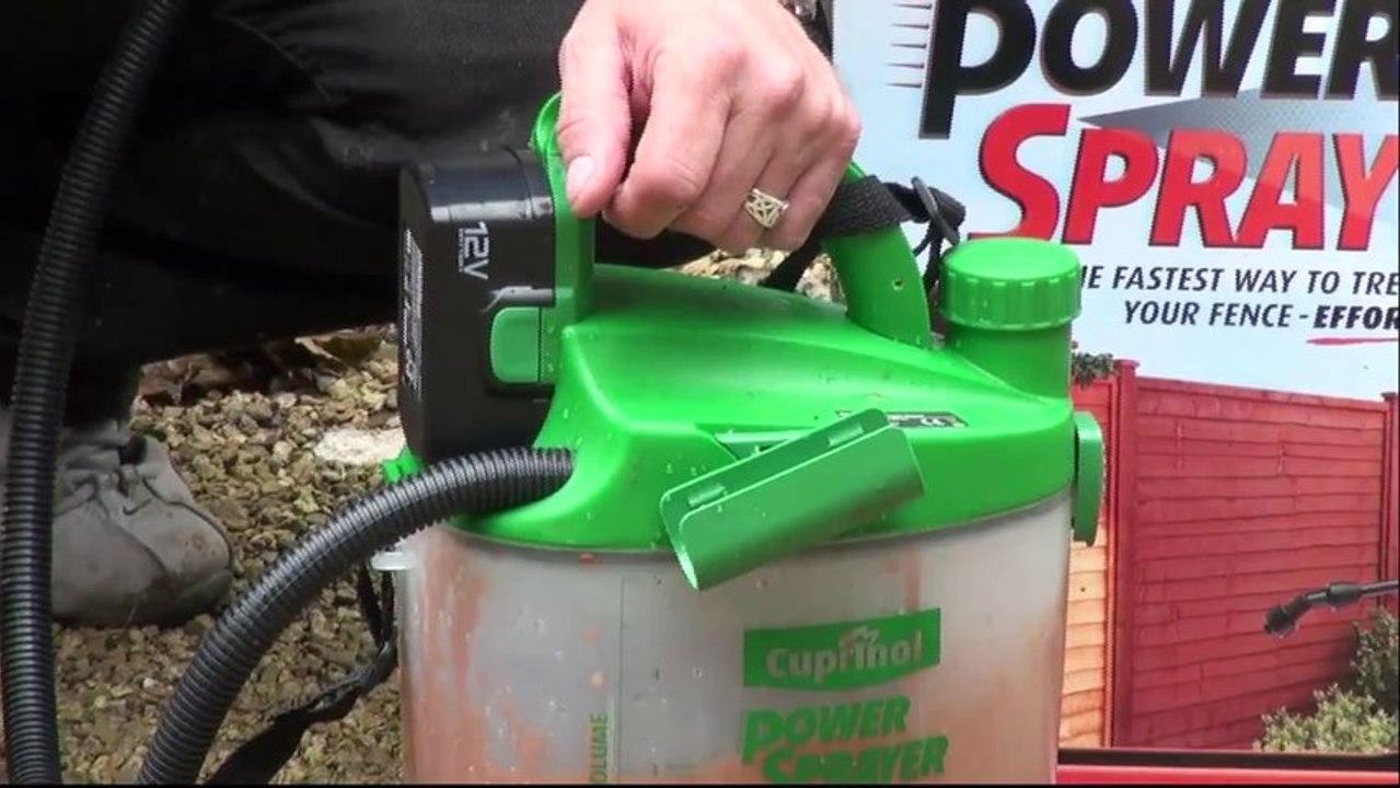 Cuprinol Power Sprayer Product Review