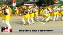 Sonia Gandhi, Rahul Gandhi, Priyanka Gandhi attend Republic day parade in New Delhi