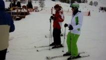 Les Deux Alpes 2014 - Première glisse de Maryon