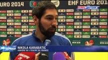 Euro Handball / Les Bleus dans une ambiance bouillante - 26/01