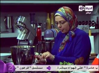 ▶ برنامج سفرة دايمة - الشيف محمد فوزى - طريقة عمل كعك مادلين - Sofra Dayma - YouTube [360p]