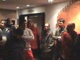 Salernes Var Voeux aux  Employés Municipaux le 24 Janvier 2014 par Nicole FANELLI, Maire de Salernes, Conseillère générale du Var, au Musée Terra Rossa  de Salernes Dracénie Var