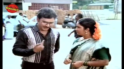 Chinna Veedu Tamil Movie Dialogue Scene Shree Kalpana & Sathyaraj