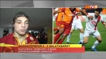 FUTBOL - Gaziantepspor Maç Sonu  Açıklamalar Salih Dursun