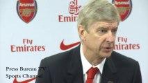 Arsene Wenger pre Southampton vs Arsenal