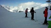 Les Deux Alpes 2014 - C'est pas beau de se moquer :D