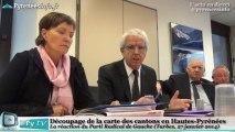 [HAUTES-PYRENEES] Réforme des cantons - Michel Pélieu PRG (27 janvier 2014)