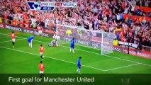 Alexander Büttner first goal from Manchester United