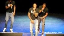 LeBron James, Dwyane Wade et Udonis Haslem chantent Blurred Lines de Robin Thicke