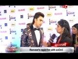 59th Idea Filmfare Awards 2014 Ranveer Singh on Priyanka Chopra & Ranbir Kapoor's hosting