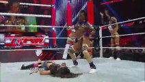 RAW - The Funkadactyls and The Bellas Twins vs. Aksana , Alicia Fox , AJ Lee and Tamina Snuka