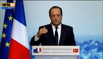 """François Hollande reconnaît ne pas avoir """"réussi à faire diminuer le chômage"""""""