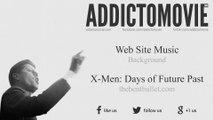 X-Men: Days of Future Past - The Bent Bullet Web Site Music (Web Site Music - Background)