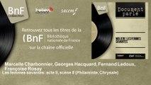 Marcelle Charbonnier, Georges Hacquard, Fernand Ledoux, Françoise Rosay - Les femmes savantes