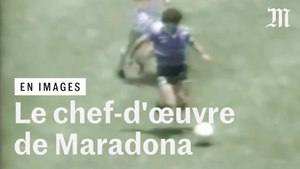 Quand Maradona signait le « plus beau but du XXe siècle » au Mondial 1986