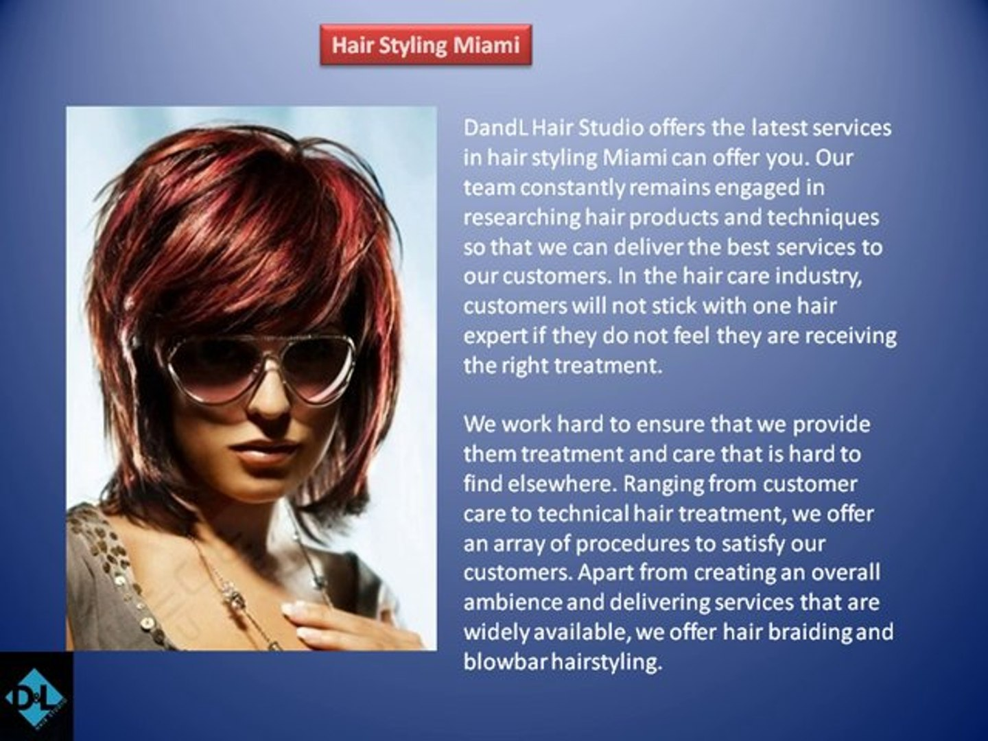hair styling miami