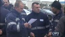 Mory-Ducros : Les salariés du Mans en colère