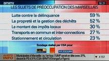 BFM Story: Sondage sur les élections municipales de 2014 à Marseille: Jean-Claude Gaudin en tête - 29/01