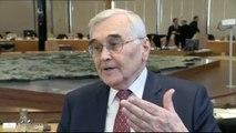 Michel Berson fait ses adieux à l'Assemblée départementale