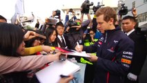 Sebastien Vettel en maître Kung Fu