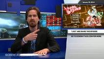 Hard News 01/29/14 - Nintendo gets a pay-cut, Elder Scrolls Online, Battlefield 4 Appreciation Month - Hard News Clip