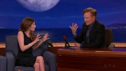 Anna Kendrick on Conan O'Brien (Full) [01-28-2014]