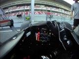 A bord d'une F1 à travers le regard de Luca Di Grassi